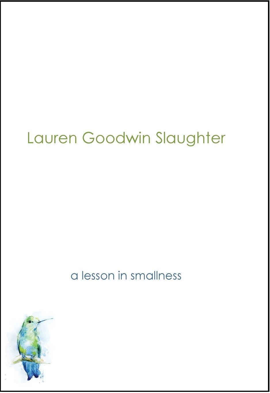 lesson in smallness